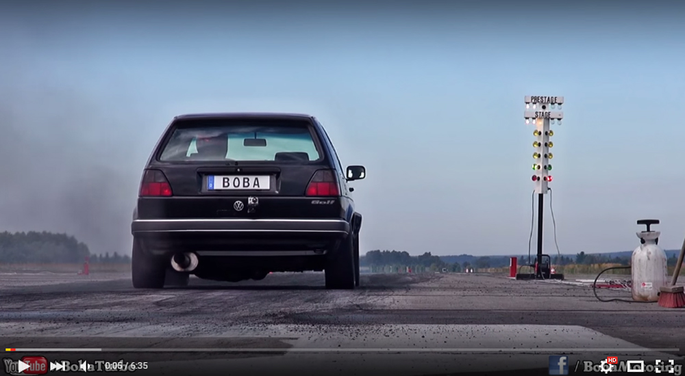 This Insane Golf II Is The Fastest Ever
