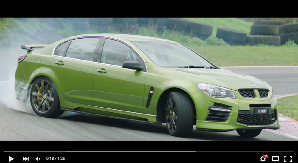 Exceptionally Muscled Out Holden Cars Receive An Insane V8 Monsters For The Future