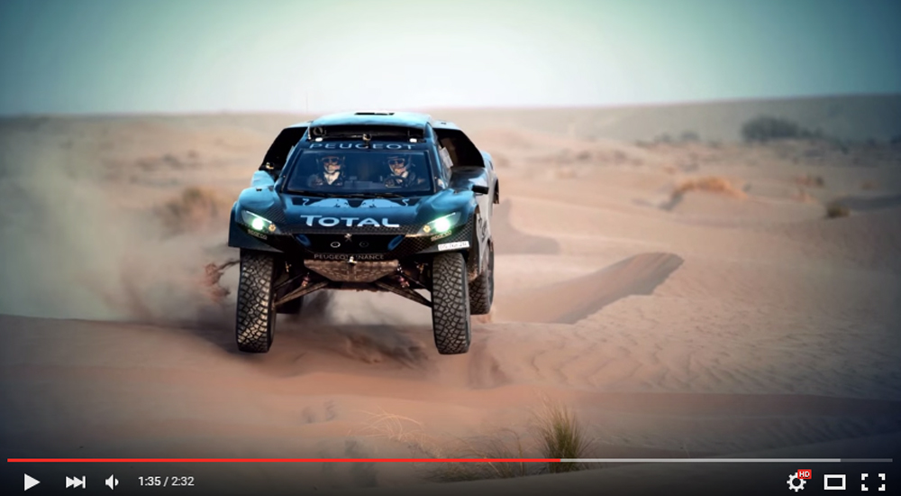 Peugeot Released The New Amazing Dakar Fighter 2008 DKR16 And It Already Took one-two Finish In China