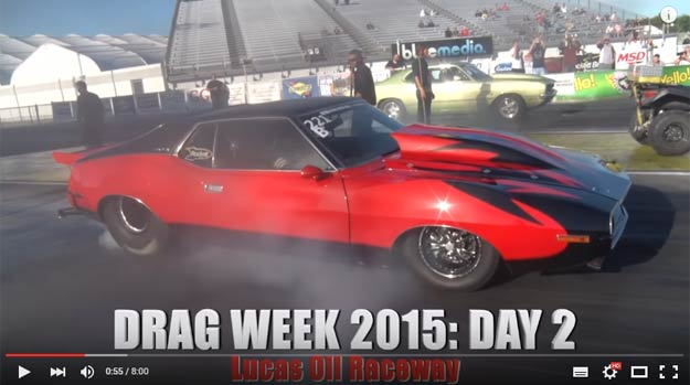 Amazing Road Legal AMC Javelin Does 6 Second Pass