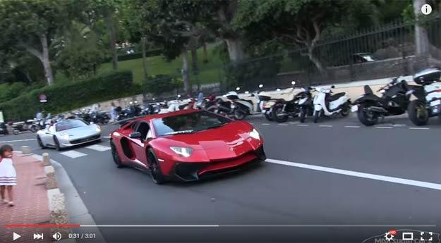 If You Go To Monaco You Can Actually Rent A New Aventador SV