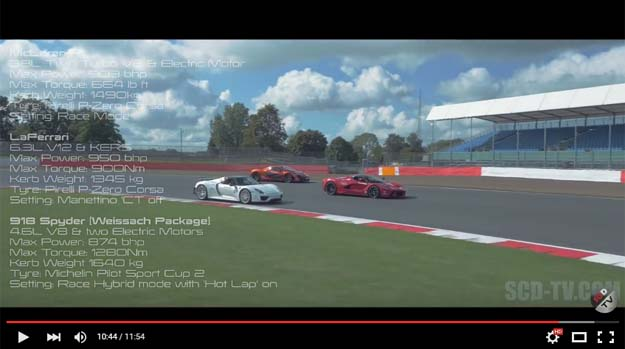 Holy Trinity: LaFerrari, P1 And 918 Spyder Finally On Track In A Lap Time Fight (We have the laptimes)