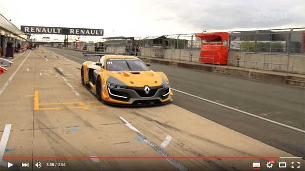 Chris Harris Raced The Renault Sports RS 01 And Praised It To Infinity