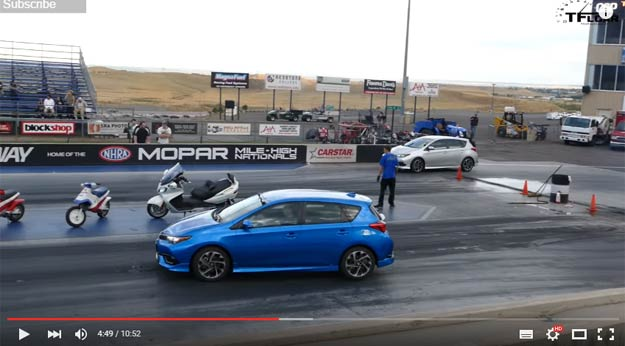 The Ultimate Test Between A CVT And A Manual On A Drag Strip