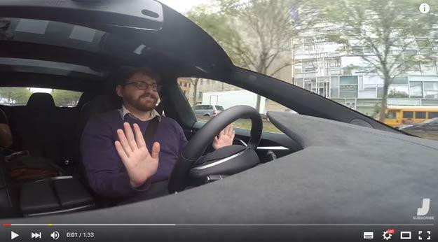 Impressive Tesla Autonomous Mode Shows Us The Future Of Motoring