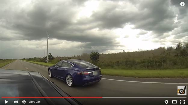 The Incredible Tesla Model S P90D Just Trashed The P85D In A Drag Race
