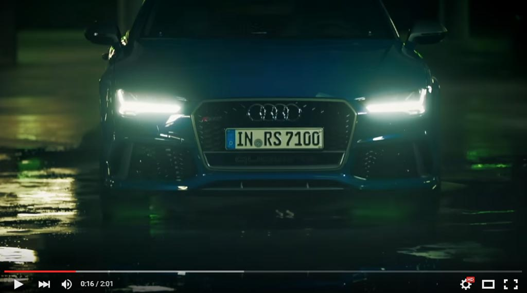 Audi RS6 Avant And RS7 Performance Are In An Epic Fall Dance In The Latest Audi Videos