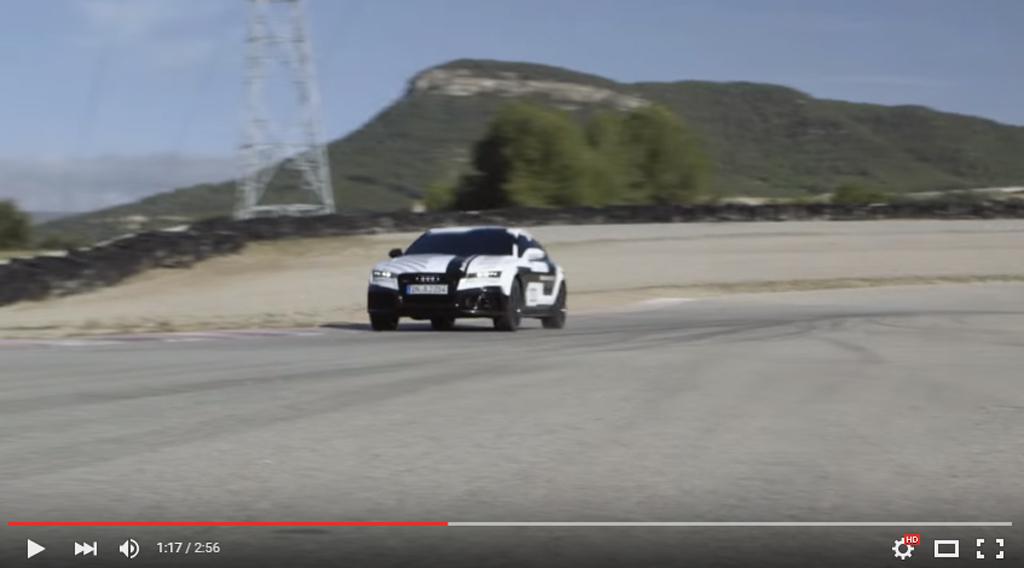 Audi Broke A Track Record In An Autonomous Car