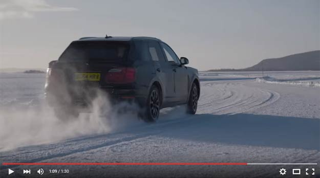 Bentley Is Going To Bring The Bentayga To A Frozen Lake To Give The Customers The Ultimate Experience