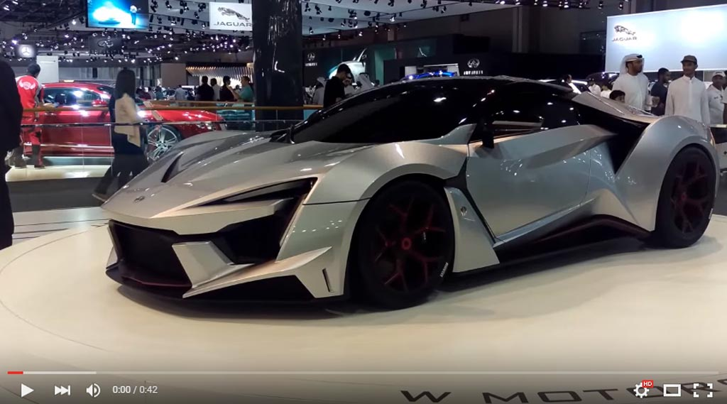 This Is The Best Car Presented At The Dubai Motor Show This Year