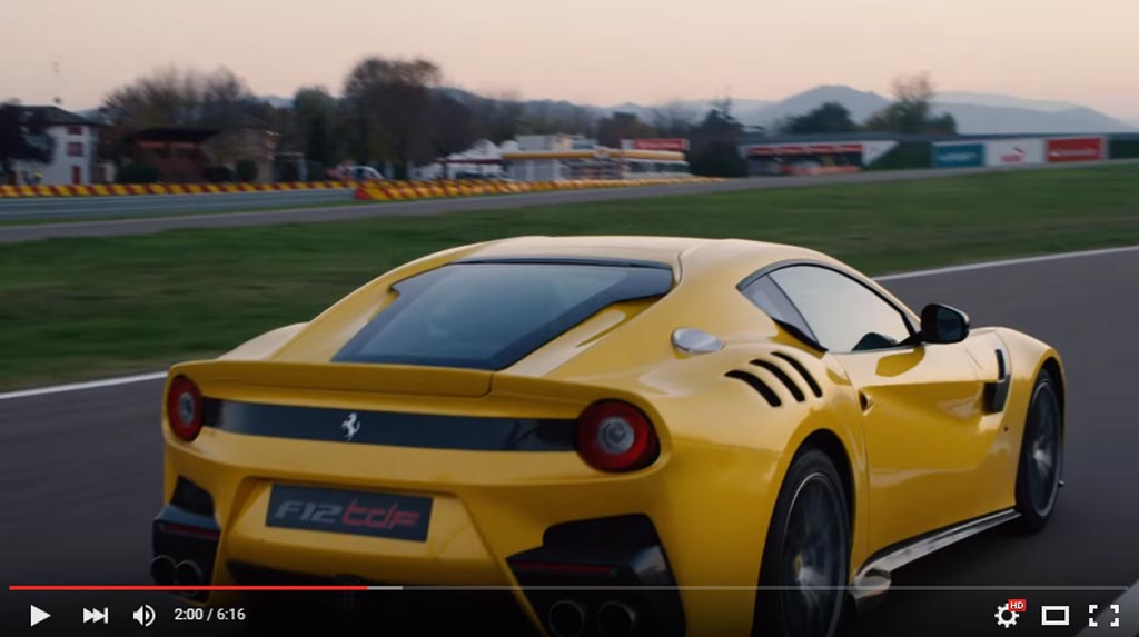 This Is What It Is Like To Drive Ferrari F12tdf And Its Insane