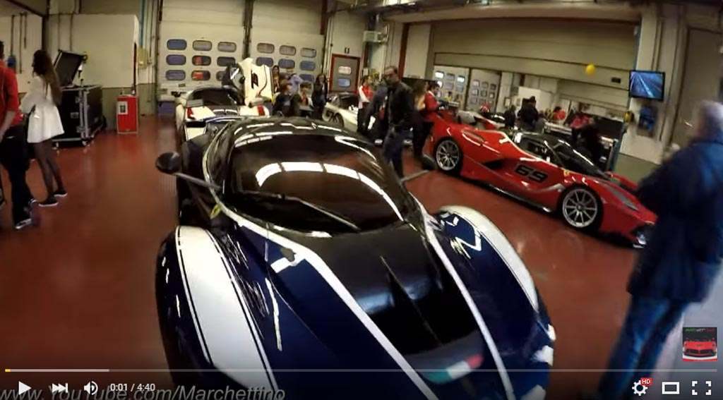 Ferrari FXX K Thundering Down The Race Track Is The Most Motivational Thing You Can See