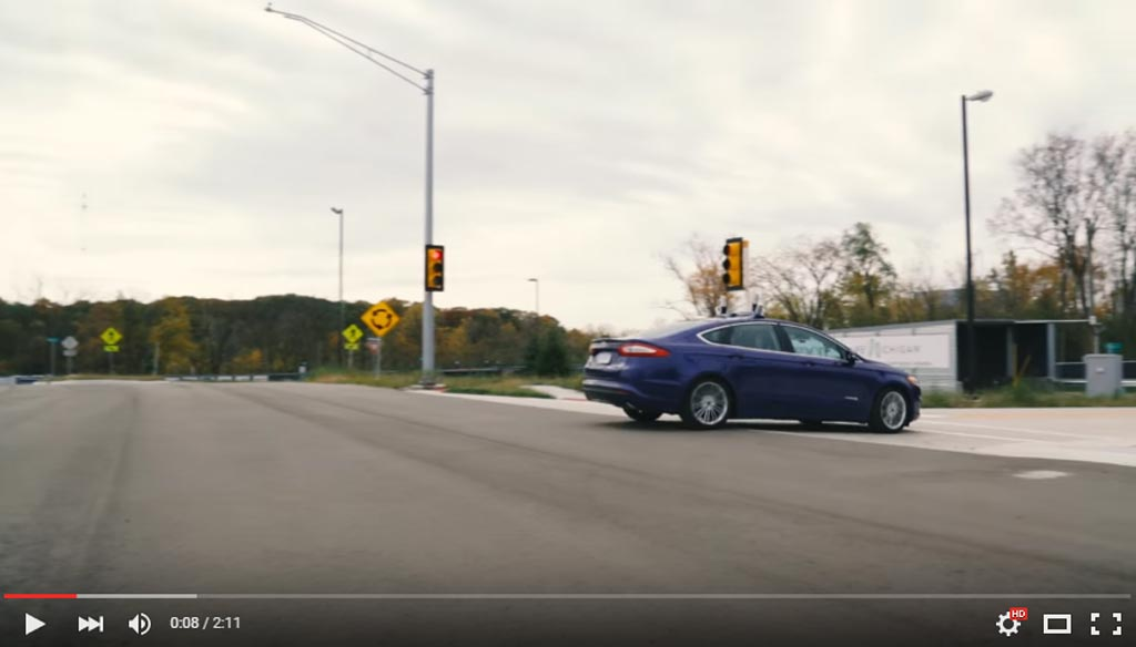 "Ford Is The First To Use ""Dummy"" City Mcity To Test And Develop Autonomous Cars"