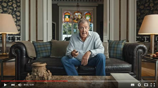 Jeremy Clarkson Is Back, In A Rather Nice Commercial