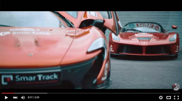 The McLaren P1 and The Porsche 918 Spyder Are Finally Put Against The Ferrari LaFerrari In A Drag Race