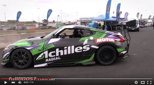Is This Nissan 370Z With NASCAR Engine The Ultimate Drifter