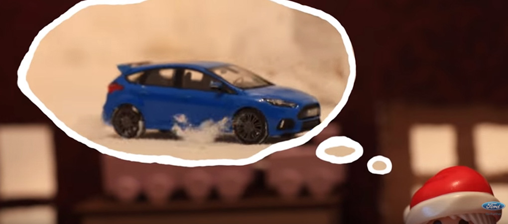 Ford Performance Wishes Us Happy Holidays With The New Cute Hokhana Video