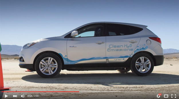 Hyundai Tucson Fuel Cell Just Became The World's Fastest Hydrogen Powered Crossover
