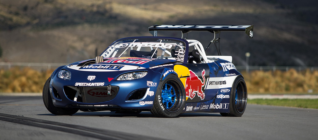 Mazda MX-5 With 1500hp Gets Sideways In A Way Never Seen Before