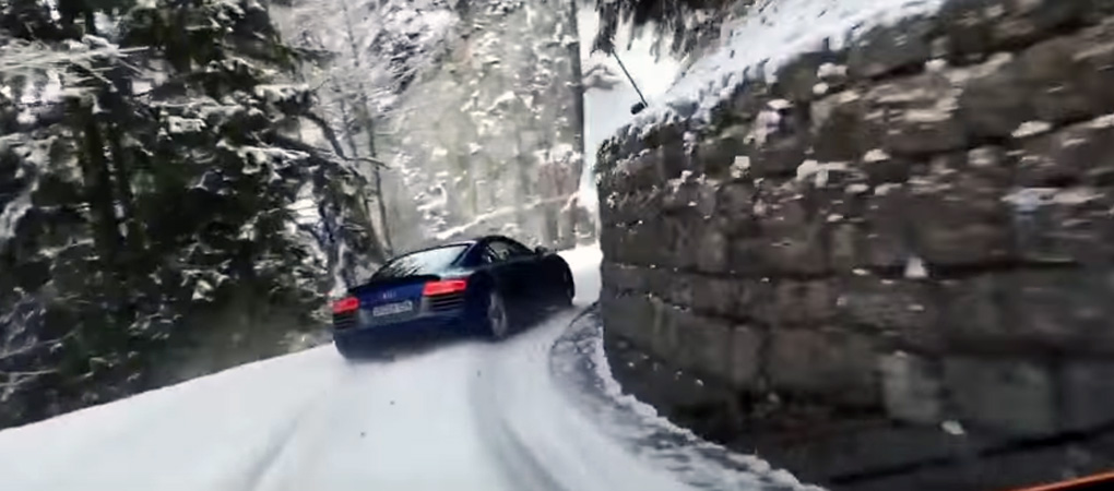 The New Audi R8 Drifted Its Way Uphill And We Can Witness Its Greatness