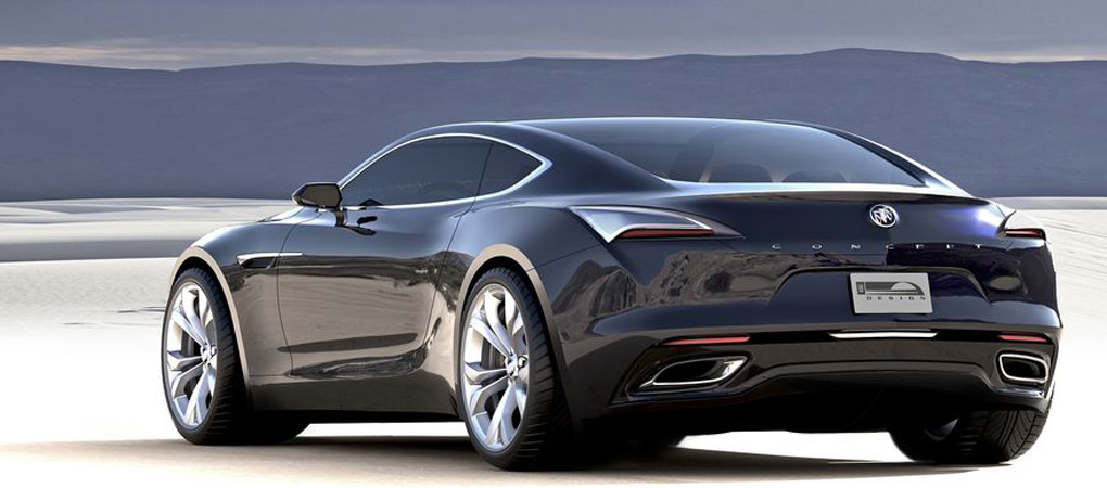 Buick Wowed The World By Revealing The Elegant And Beautiful Avista Concept Coupe