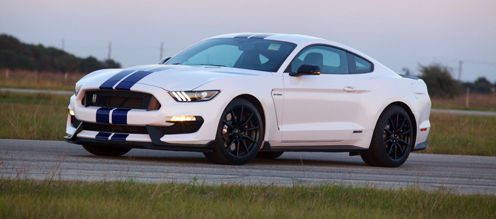 Beefy Improved Hennessey Shelby GT350 Mustang Attacks The Dyno With 575 hp