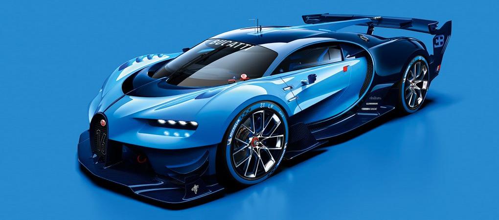 Epic Bugatti Vision Gran Turismo Is Like A Freaking Racing Bugatti Veyron