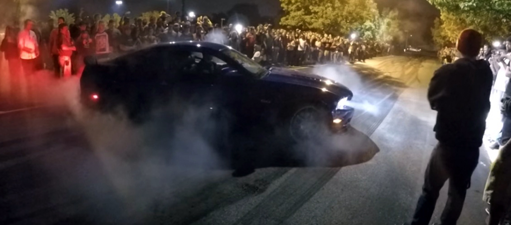 Insane Burnout Party Is The Way The Americans Enjoy Freedom