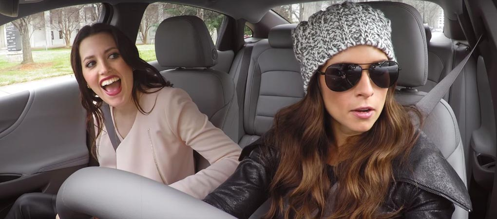 Danica Patrick Surprised The Lyft Passengers In Charlotte