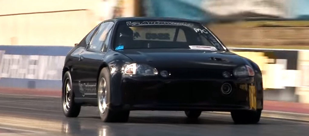 This Honda CRX Del Sol Is A Front Wheel Drive 8 Second Car With  Veyron Power