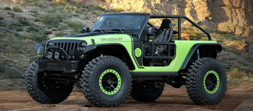 Jeep Went All Mad And Put A 707hp Hellcat Engine In A Wrangler Called The Trailcat
