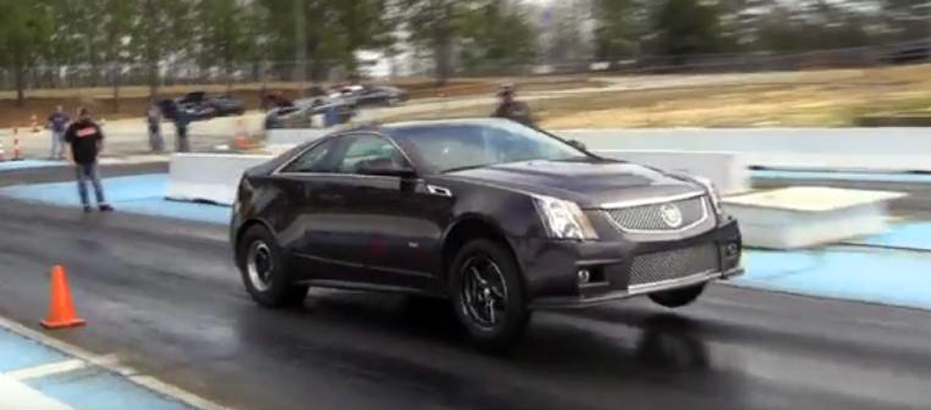 CTS-V Ditches Its Sophistication And Go All Muscle For Drag Racing