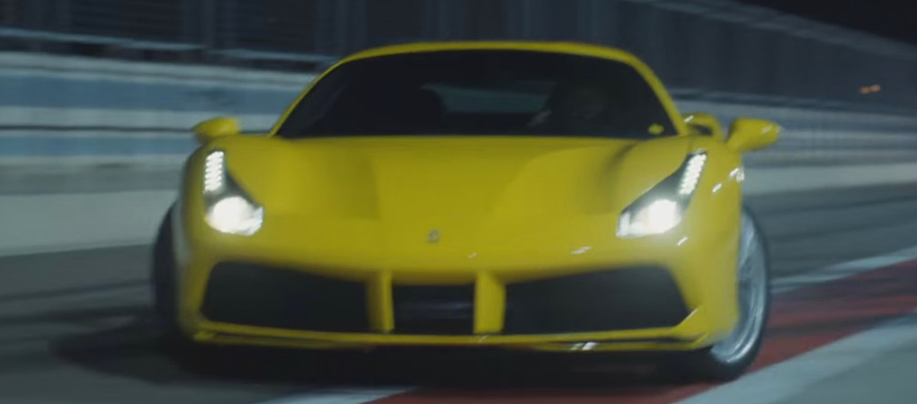 Ferrari 488 GTB On The Streets Of Barcelona Went Viral Because It Is The Best Car Footage In A Long Time
