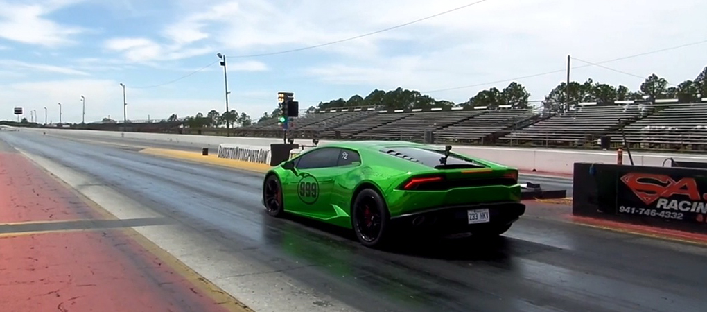 This Incredible Street Legal Lamborghini Huracan Just Became The Fastest Car