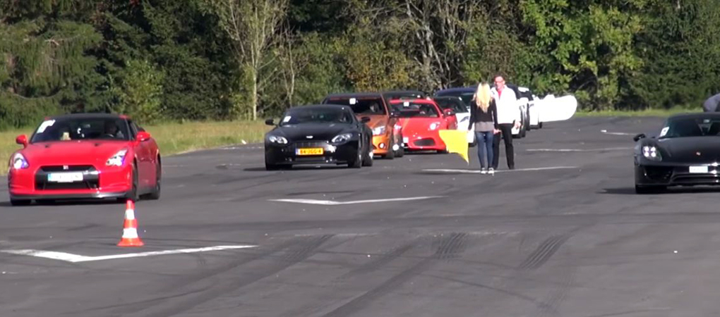 700hp Nissan GT-R Races The Porsche 918 Spyder And The 911 Turbo S Cabriolet With Surprising Results