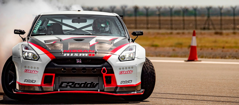 Nissan GT-R Is The Fastest Drift Car Ever At 189.49mph Going Sideways