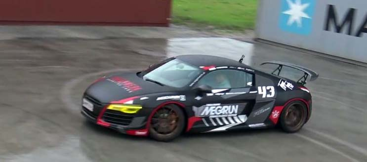 This Happens To Be The First Biturbo Audi R8 In Austria And I'ts Quite A Machine