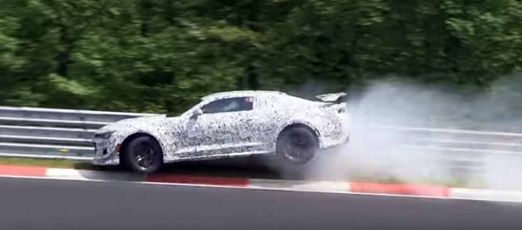 Camaro Z/28 Prototype Crashed On The 'Ring