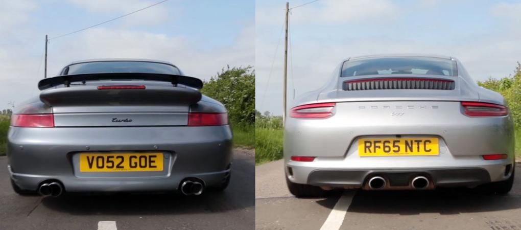Comparing The Sound Of Porsche 911 996 Turbo and 2017 Porsche 911 Carrera Will Reveal Progress