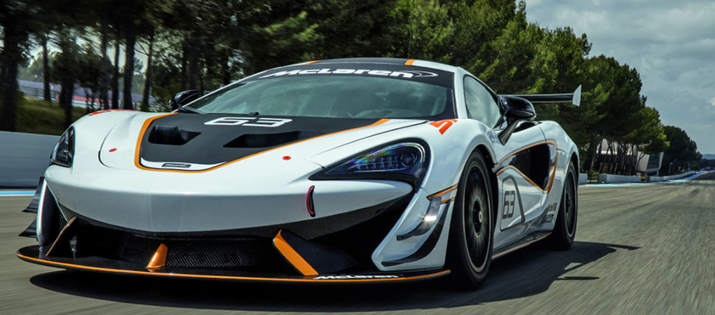 New McLaren 570S Sprint Barks And Shouts Like A Hooligan
