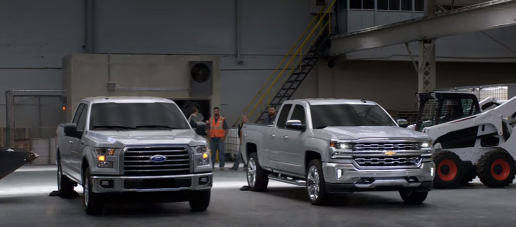 Chevrolet Tries To Prove Steel Is Better Than Aluminum In This F-150 vs Silverado Comparison
