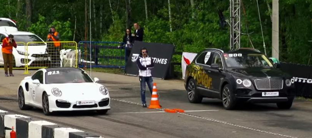 Fastest SUV In The World Goes Against The 800hp Porsche 911 Turbo S