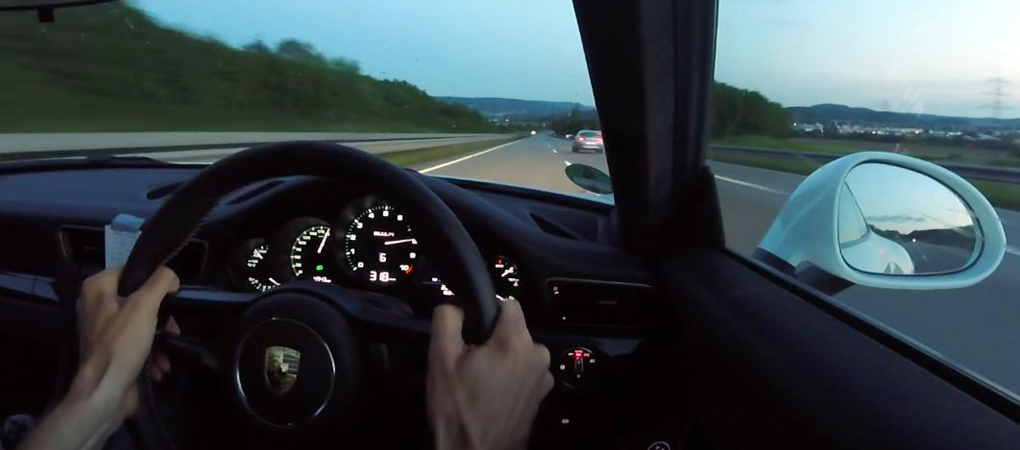 Porsche 911 R Hitting 200 mph On A Public Road Is Insane And Insidious