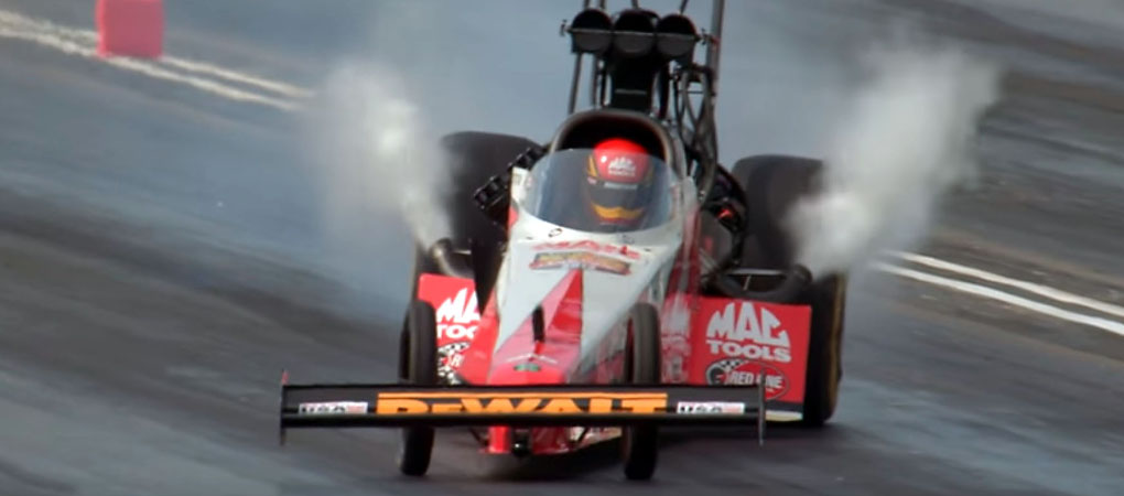 Top Fuel Dragster Driver Shows Insane Skills And Wins A Race In This Incredible Slow-Mo Video