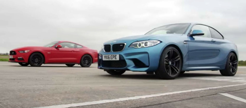 BMW M2 Destroyed The 'Stang In A Drag Race