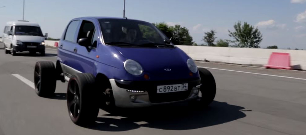 Daewoo Matiz With 20-inch Vossen Wheels Is The Best Thing You Will See Today