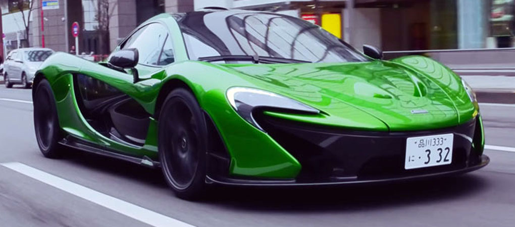 Japanese Lawyer Uses McLaren P1 As A Daily Driver