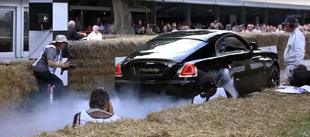 Rolls Royce Did A Burnout And It Is Simply Awesome