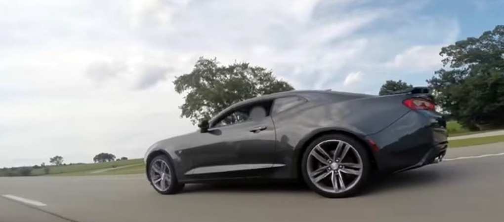 Stock 2016 Camaro SS Walked Over A More Powerful Shelby GT350 In A Drag Race