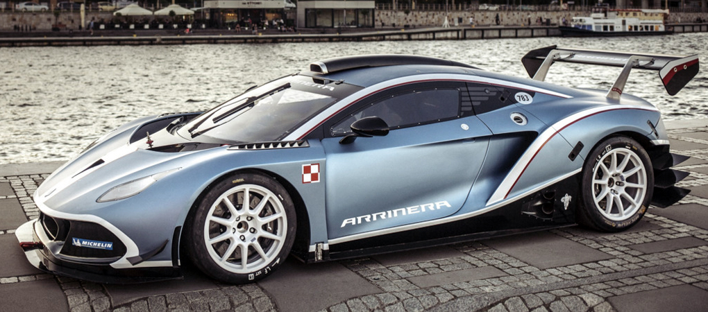 Polish Supercar Arrinera Hussarya GT First Time On The Streets of Warsaw